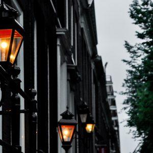 Amsterdam streets at night ©ItsM.Sherif