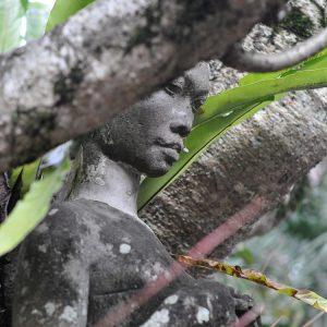 Culture Temple lady statute Ubud Bali ©ItsM.Sherif