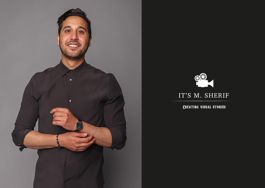 Mahmoud Sherif It's M Sherif producer filmmaker actor director