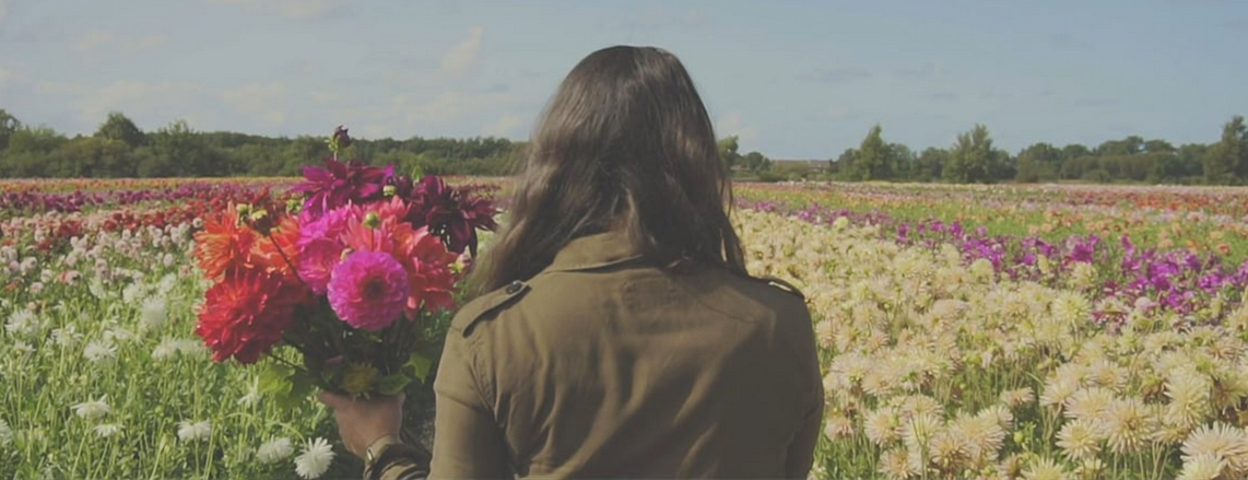 Personal shoot in the flowerfields